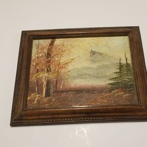 Hand painted vintage